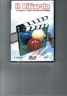 IL BILIARDO LE TECNICHE E I SEGRETI DEL BILIARDO ALL'ITALIANA NUOVO SIGILLATO FINSON - DVD
