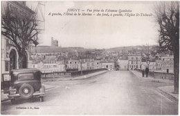 89. JOIGNY. Vue Prise De L'Avenue Gambetta - Joigny