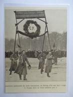 """1917 -  Petrograd Санкт-Петербу́рг -    """"RUSSIE LIBRE""""  La Révolution Russe - Coupure De Presse Originale (Encart Photo) - Documents Historiques"""