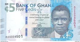 Ghana - Pick New - 5 Cedis 2017 - Unc - Commemorative - Ghana
