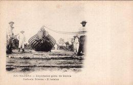 V12178  Cpa Amérique - Bolivie - Rio Madera, Exportacion Goma De Bolivia, Cachuela  Riberao, El Batelon - Bolivie
