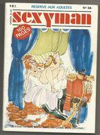 Bd Adultes  N° 36 Sexyman - Erotique (Adultes)