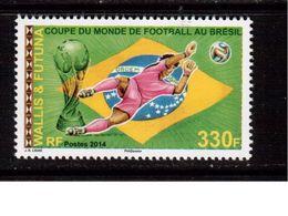 Wallis Et Futuna-2014,(Mi.), Football, Soccer, Fussball,calcio,MNH - 2014 – Brazil