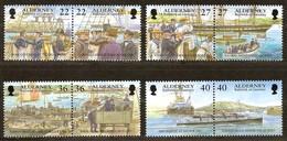 Alderney Aurigny 2001 Yvertn° 180-87 *** MNH Cote 12 Euro - Alderney