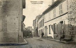 CPA - MONISTROL-sur-LOIRE (43) - Aspect Du Faubourg Carnot En 1917 - Monistrol Sur Loire