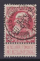 N° 74 PERFORE BOLLINCKX  Bruxelles Sud Ouest - 1905 Grosse Barbe
