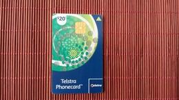 Phonecard Chip Austrila  20 $ Used - Australia