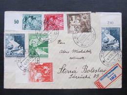 BRIEF Sudetenland Hostau Wir Sind Frei 4.12.1939 - Stara Boleslav /// D*30490 - Sudetenland