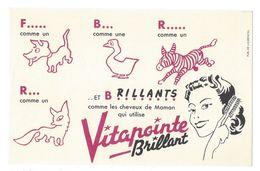 B30- Buvard Vitapointe Brillant Animaux Renard - Parfums & Beauté