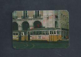 ANCIEN PETIT CALENDRIER  TRAMWAY DE LISBOA PORTUGAL DE 1986 : - Calendriers