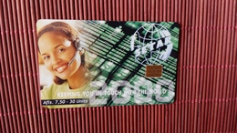 Phonecard Aruba Only 80.000 Made Used - Aruba