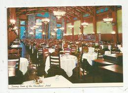 Cp , Restaurants & Hôtels ,Etats Unis , California ,Yosemite National Park, AHWAHNEE HOTEL - Hotels & Restaurants
