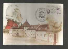 Carte Maximum , Premier JouR? 1980 ,  école Nationale Supérieure D'arts Et Métiers , 60 , LIANCOURT - 1980-89