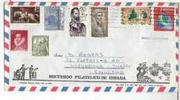 BENIDORM ALICANTE SOBRE TURISTICO HIPICA AVICENA ARTE ARQUITECTURA ARBOL TREE - 1931-Aujourd'hui: II. République - ....Juan Carlos I