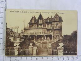 CPA (76) Seine Maritime - POURVILLE SUR MER - HOTEL ALBION - Vue Unique Sur Mer Et Campagne - Francia