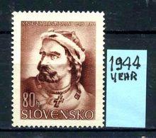 SLOVACCHIA - SLOVENSKO - Year 1944 - Nuovo - New - Fraiche - Frisch -NO  GLUE. - Unused Stamps