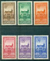 LUXEMBOURG N° 282 / 287  Nxx Congrès Fédéral De Philatélie Tb  .cote:20 €. - Luxembourg
