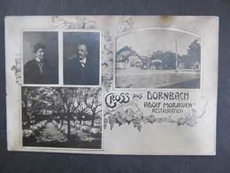 AK WIEN XVII. DORNBACH 1908 Adolf Morawek Restauration ///  D*30507 - Sonstige