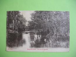 CPA   Selles-sur-Cher  Vue Sur La Sauldre   1924 - Selles Sur Cher