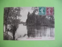 CPA   Selles-sur-Cher  Vue Sur Le Cher  1924 - Selles Sur Cher