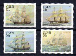Ciskei - 1985 - Sail Troopships - MNH - Ciskei
