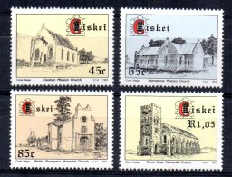 Ciskei - 1993 - Churches & Missions - MNH - Ciskei