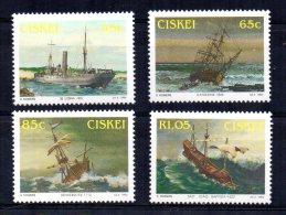Ciskei - 1994 - Shipwrecks - MNH - Ciskei
