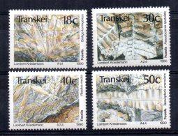 Transkei - 1990 - Plant Fossils - MNH - Transkei