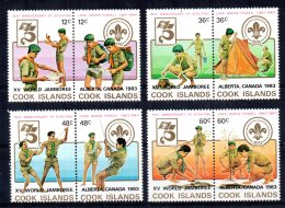 Cook Islands - 1983 - 15th World Scout Jamboree - MNH - Cook