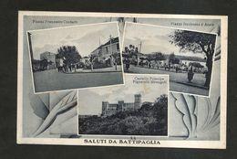BATTIPAGLIA ( SA ) - SALUTI Da BATTIPAGLIA ( Spedita 1936 ) - Salerno