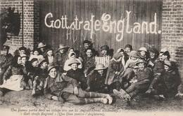 Militaria : Une Joyeuse Partie Dans Un Village Pris Par Les Anglais - Guerre 1914-18