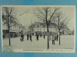 Conflans-Sainte-Honorine Place Foullière - Conflans Saint Honorine