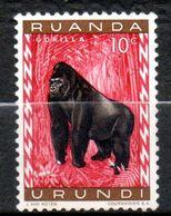 RUANDA-URUNDI  Gorille 1959-61 N° 205 - Ruanda-Urundi