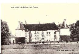 Aunay. La Cour D'honneur Du Chateau D'Aunay. - Otros Municipios