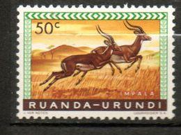 RUANDA-URUNDI  Impalas 1959-61 N° 208 - Ruanda-Urundi