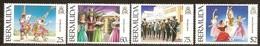 Bermuda 1994 Yvertn° 676-679 ***  MNH Cote 12,00 Euro Héritage Culturel - Bermudes