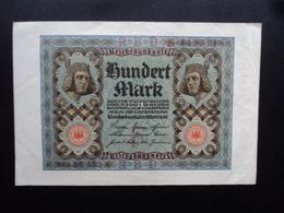 ALLEMAGNE : 100 MARK  1.10.1920  P 69a   TTB+ - [ 3] 1918-1933 : República De Weimar