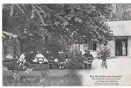 35 - ST AUBIN DU CORMIER  - Mess Des Officiers Au Camp De La Lande D' Ouée   N - Other Municipalities