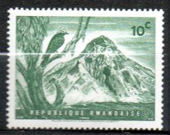 RWANDA  Volcan Mikeno 1966 N° 179 - Rwanda