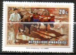 RWANDA  Le Carrier 1969 N° 330 - Rwanda