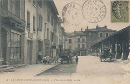 LA COTE SAINT ANDRE - N° 3 - PLACE DE LA HALLE - La Côte-Saint-André