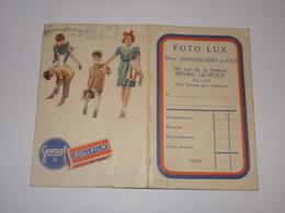 Pochette Pour Photos Foto Lux Bourg Léopold. - Supplies And Equipment
