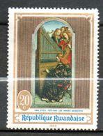 RWANDA  Tableau De Van Eyck 1969 N° 295 - Rwanda