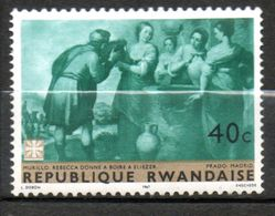 RWANDA  Tableau De Murillo 1967 N° 206 - Rwanda