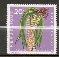 RWANDA  Orchidée 1968 N° 253 - Rwanda