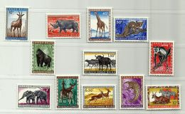 Congo Belge N° 350 / 361 ** - 1923-44: Gebraucht