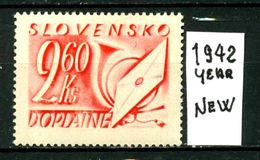 SLOVACCHIA - SLOVENSKO - Year 1942 - Nuovo - New - Fraiche - Frisch - MNH ** - Slovacchia