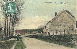 CPA Chauffry Entrée Des Corvelles - Autres Communes
