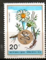 RWANDA   Pyrèthre 1969 N° 311 - Rwanda