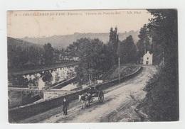 29 - CHATEAUNEUF DU FAOU / CHEMIN DU PONT DU ROI - Châteauneuf-du-Faou